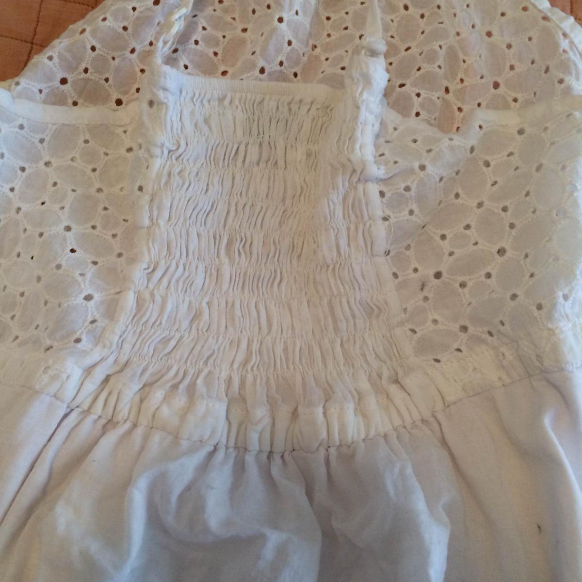Vestido blanco cuesta blanca