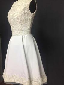 Vestido Blanco Novia Quinceaños Civil O De Fiesta Yfyg6b7v