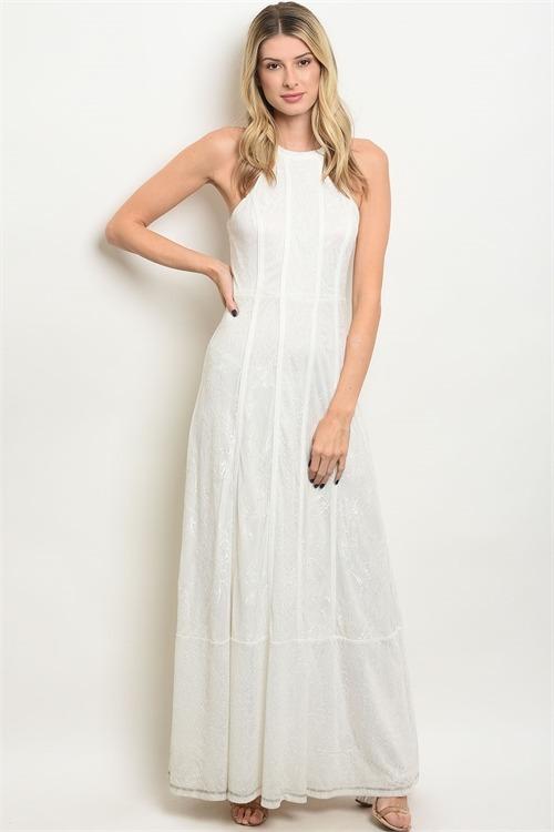 3ef173101 Vestido Blanco Elegante Fiesta Para Mujer -   149.900 en Mercado Libre
