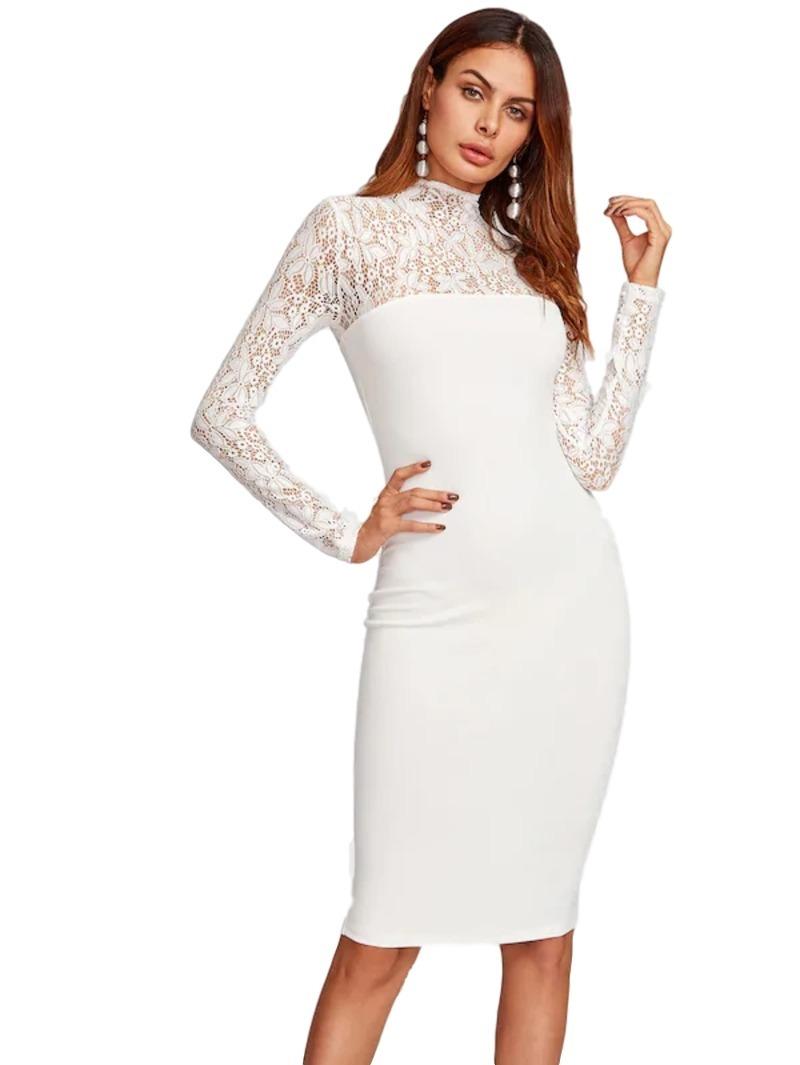 97c686162 vestido blanco hueso encaje novia coctel fiesta civil 26. Cargando zoom.