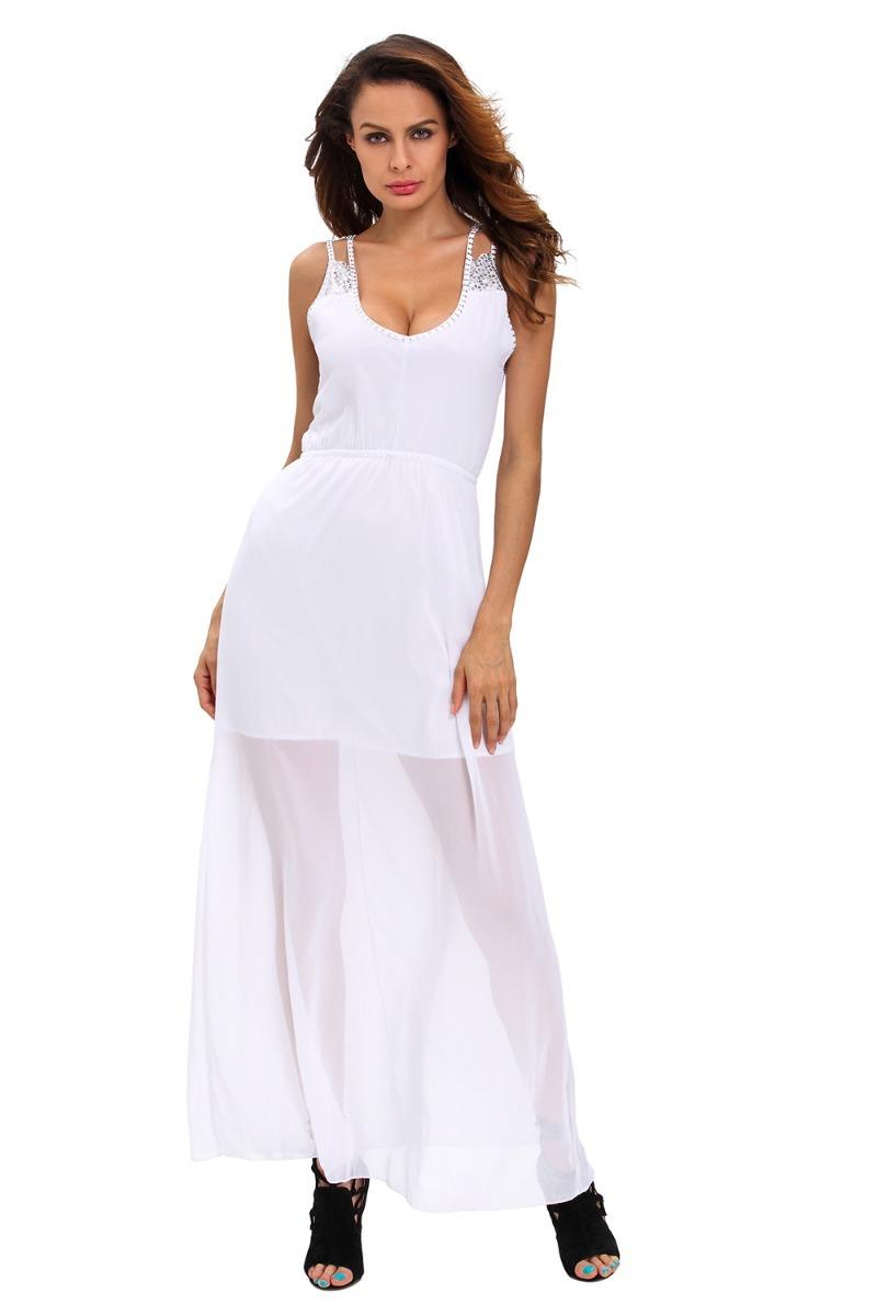 Vestidos blancos modernos