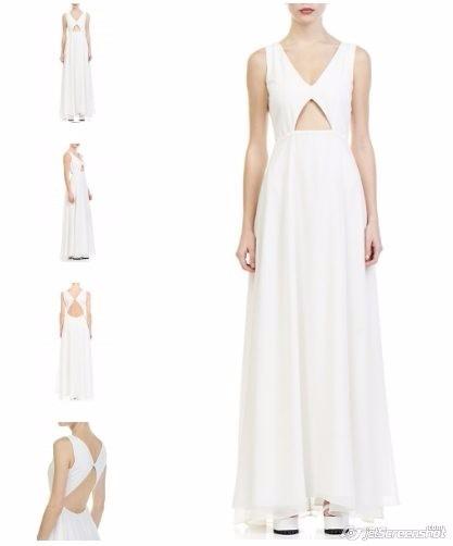 Vestido Blanco Naima Ideal Novia Moderna 190000 En Mercado Libre - Novia-moderna