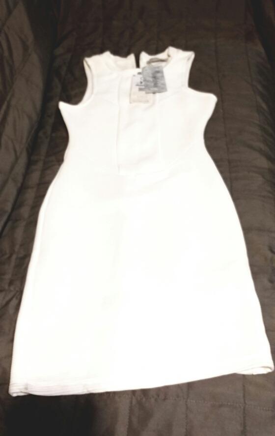 Vestido blanco bershka 2019