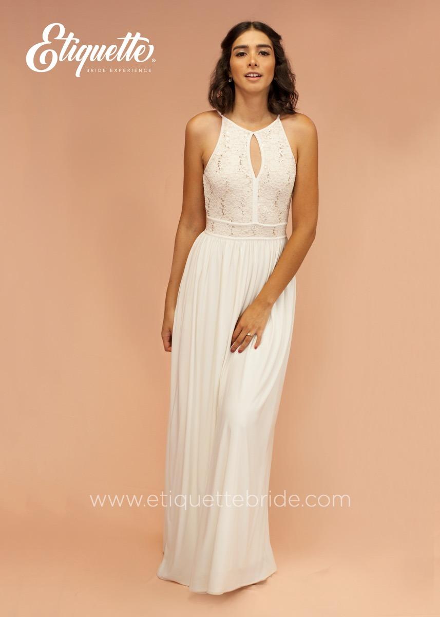 Vestido de una boda civil
