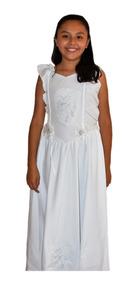 Vestido Blanco Para Comunion Confirmacion Bautizo Reina