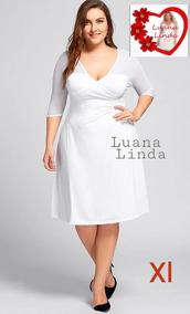 Vestido Blanco Para Gorditas