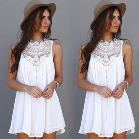 474212933 Ropa Vestido Blanco Playa en Mercado Libre Perú