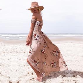Vestido De Mujer Largo De Playa Verano De Fiesta Liverpool