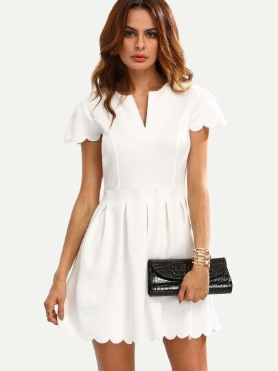 Vestido blanco para el verano