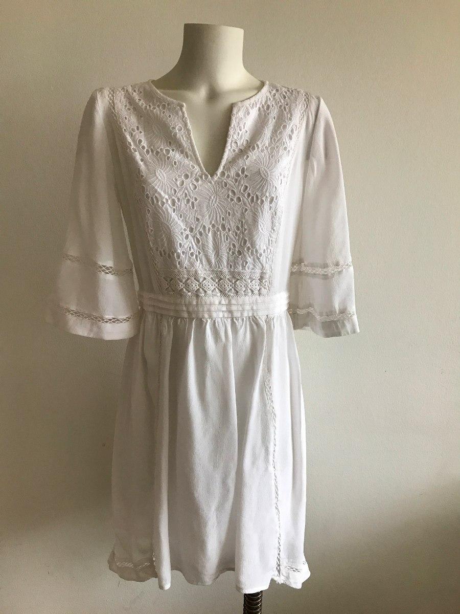 Vestido blanco cortefiel