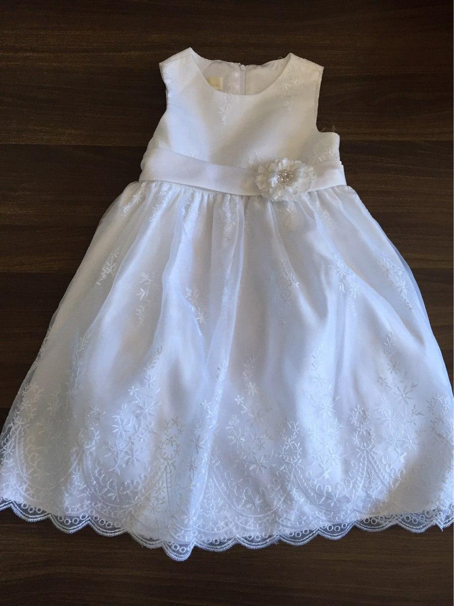94e2028a09dc5 Vestido Blanco Talla 6 -   450.00 en Mercado Libre
