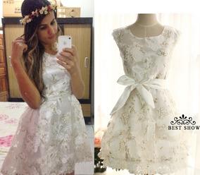 Vestido Blanco Talla S Comunion Confirmacion Pedida Matri
