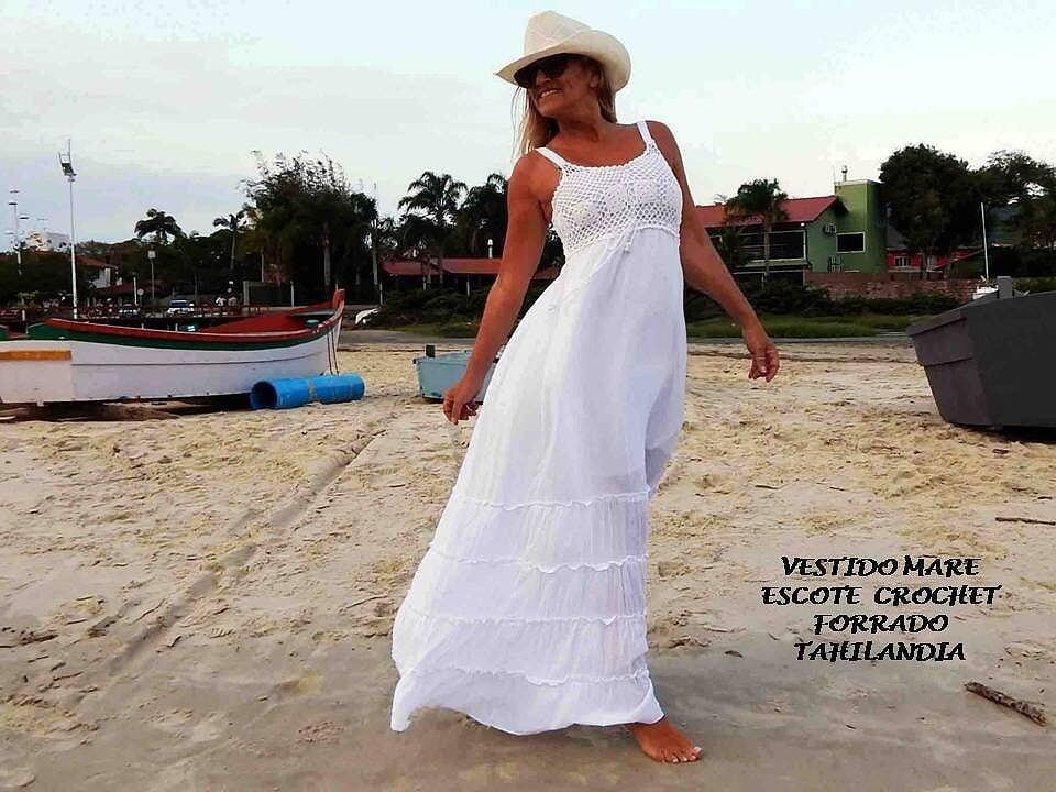 Vestidos blancos de verano 2019