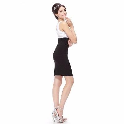 Imagenes de vestidos blanco con negro