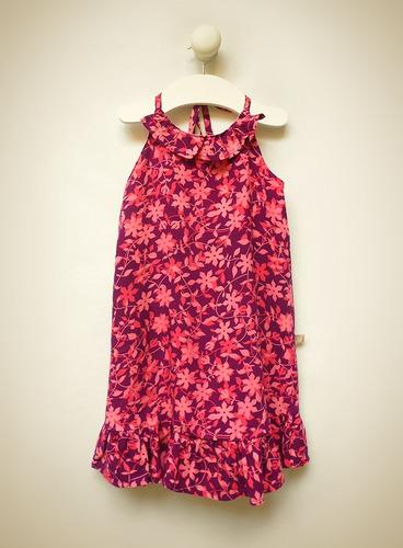 vestido blisant tipo solero voile de rayón little treasure
