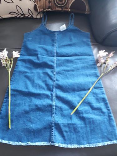 vestido bluejean talla m