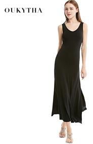 240462f1f039 Vestido Tipo Abrigo Para Mujer Vestidos Largos - Vestidos Largo ...