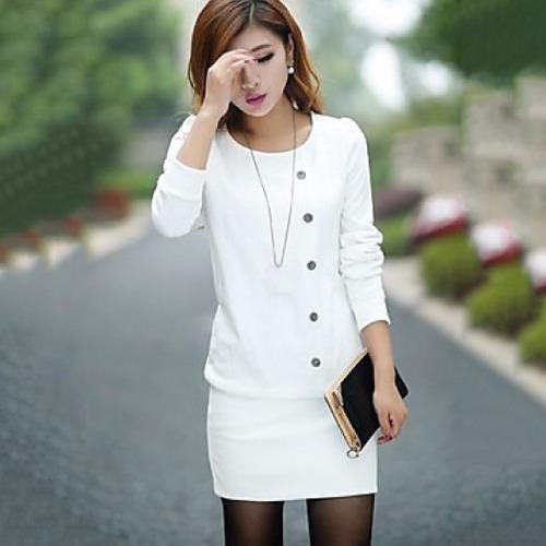 vestido blusón casual moda japonesa asiática fiestas