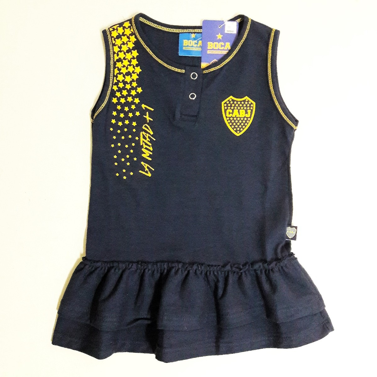 a8a755f8e Vestido Boca Beba Body Nena Ajuar Licencia Camiseta Y River -   490 ...