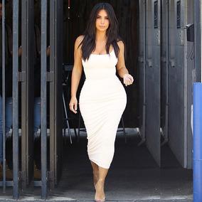 3f901fda4685 Vestido Blanco Corte Lapiz - Vestidos de Mujer De cóctel Medio Liso ...