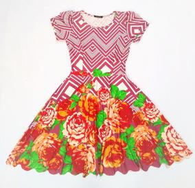 1935839bd Vestido Boneca Princesa Rodado Com Flores - Calçados