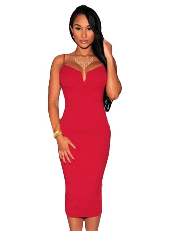 Vestido Bonito Rojo Promocion V496 -   599.00 en Mercado Libre d6eb5b54166