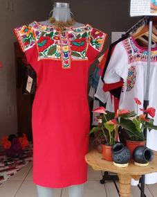 Vestido Bordado A Mano De Yaitepec Juquila Oaxaca