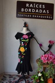 Vestidos Con Bordados Oaxaqueños Vestidos De Mujer Largo