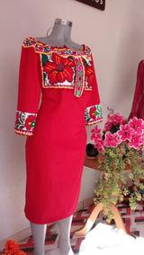 Vestido Bordado Revolucionario Vestidos De Mujer Casual