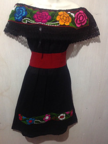 7c3316ae73 Vestidos Bordados Chiapanecos - Vestidos de Mujer en Mercado Libre ...