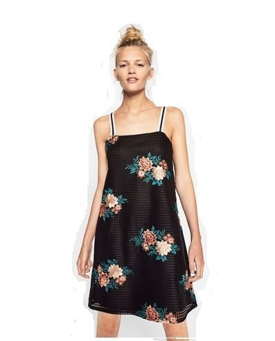 700 Talle Vestido Bordado Zara Original1 Mercado 00 Flores M En rdxQoeECBW