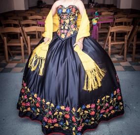 Vestidos Bordados Oaxaqueños Mujer De Xv Vestidos De Mujer
