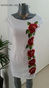 Vestidos Bordados De Yucatan Vestidos 3xl En Yucatán En