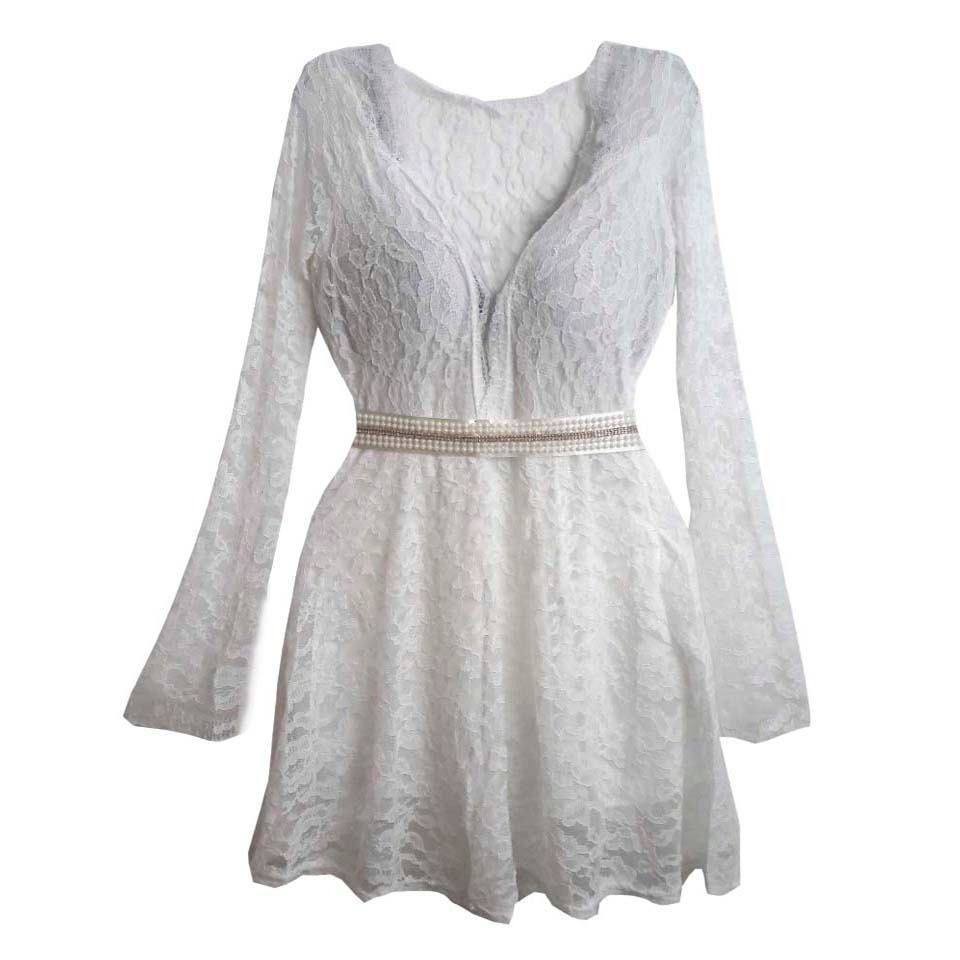 4927b6d316 vestido branco 4 peças moda feminina para comprar no atacado. Carregando  zoom.