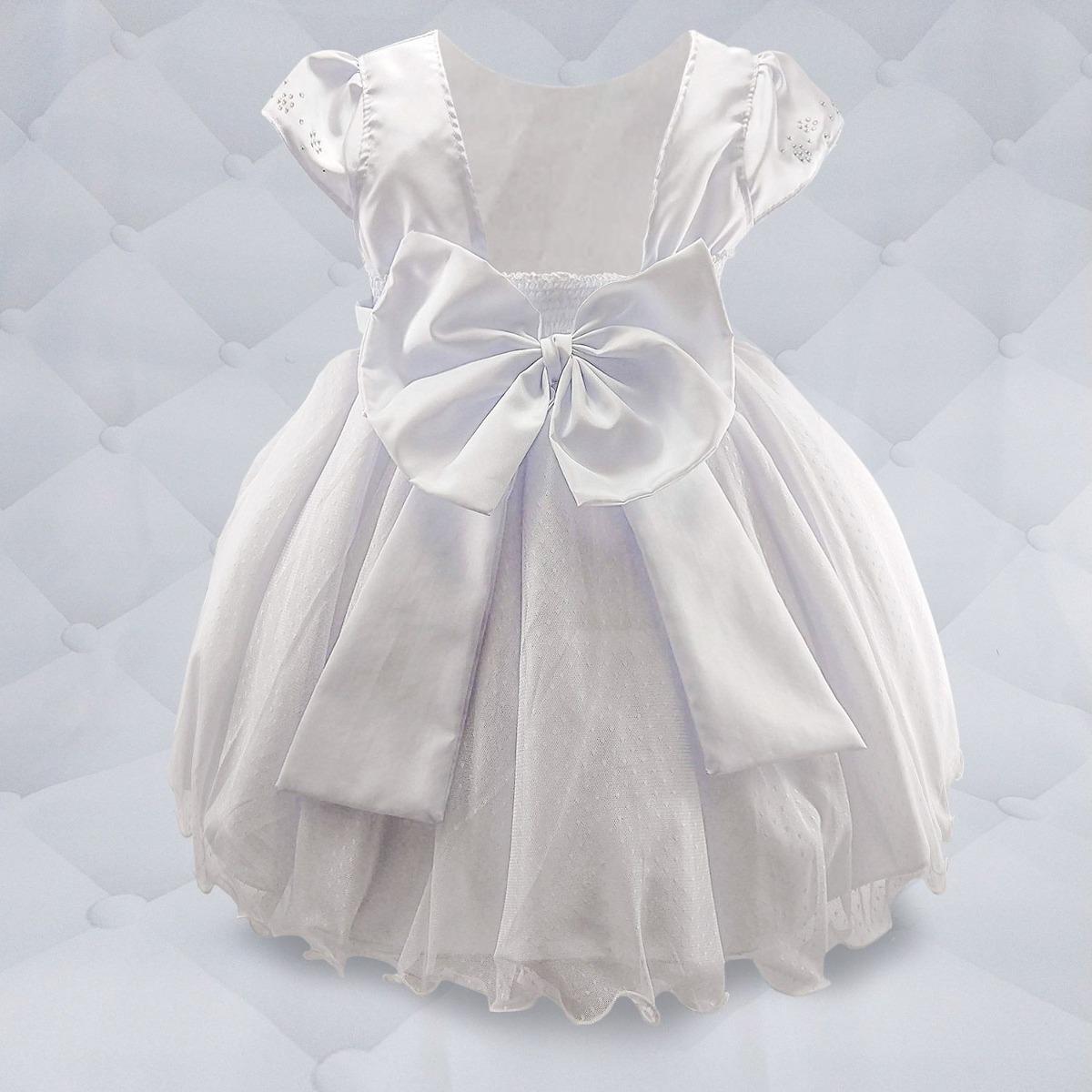 13210dd53f vestido branco com cinto de pérola e peito de strass. Carregando zoom.