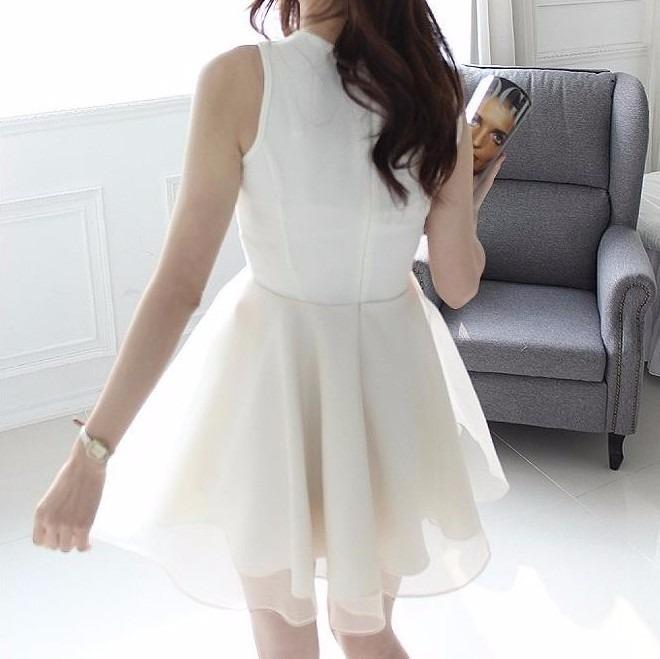 a86e3606b Vestido Branco Curto Festa Casamento - R$ 95,00 em Mercado Livre