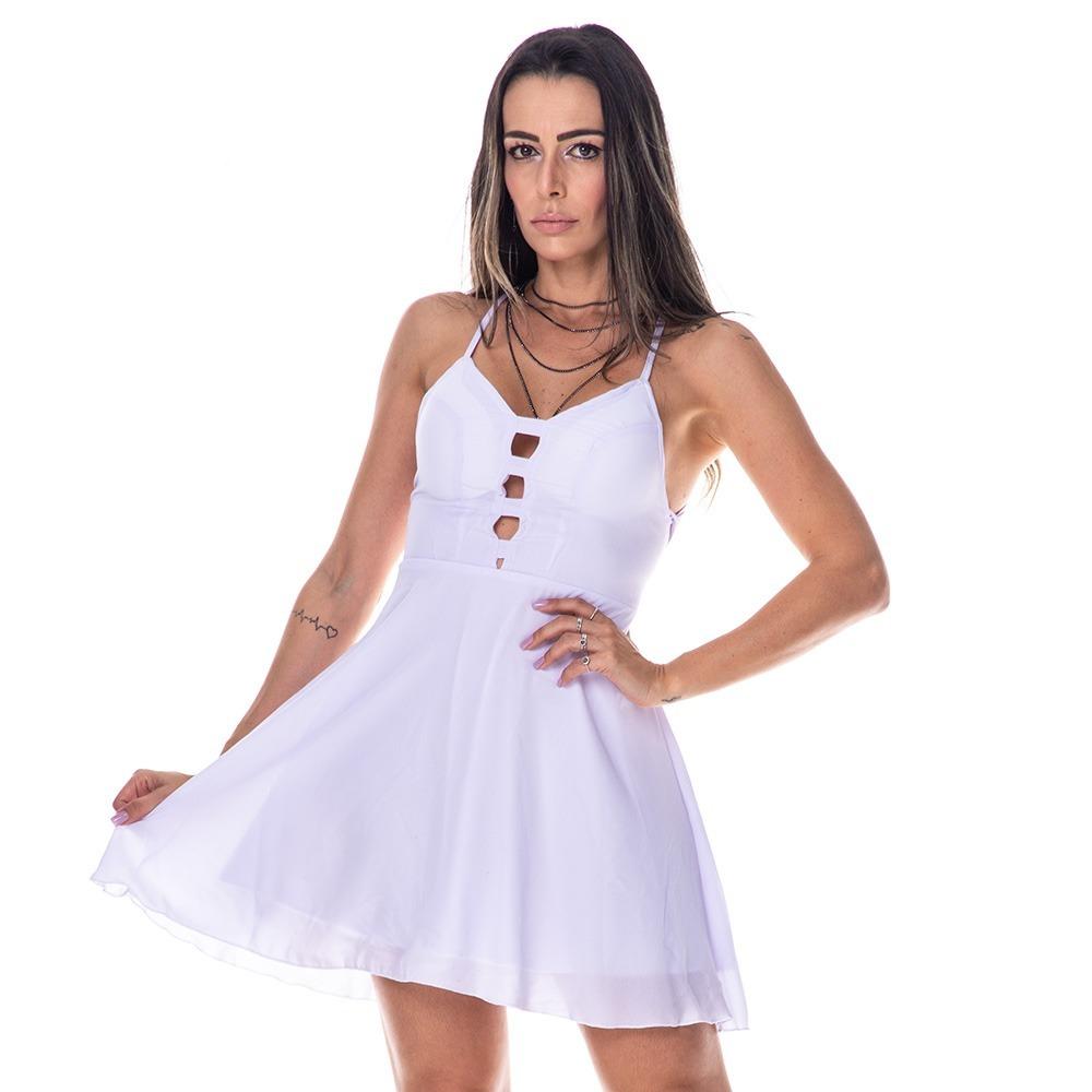 abe194d08a vestido branco curto réveillon. Carregando zoom.