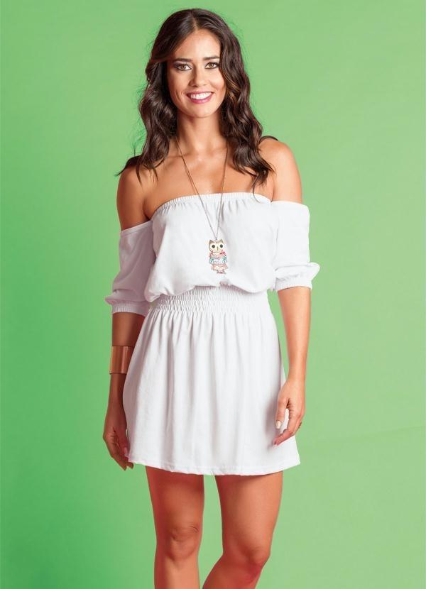 e4a0e15d47 vestido branco curto vestidos femininos. Carregando zoom.