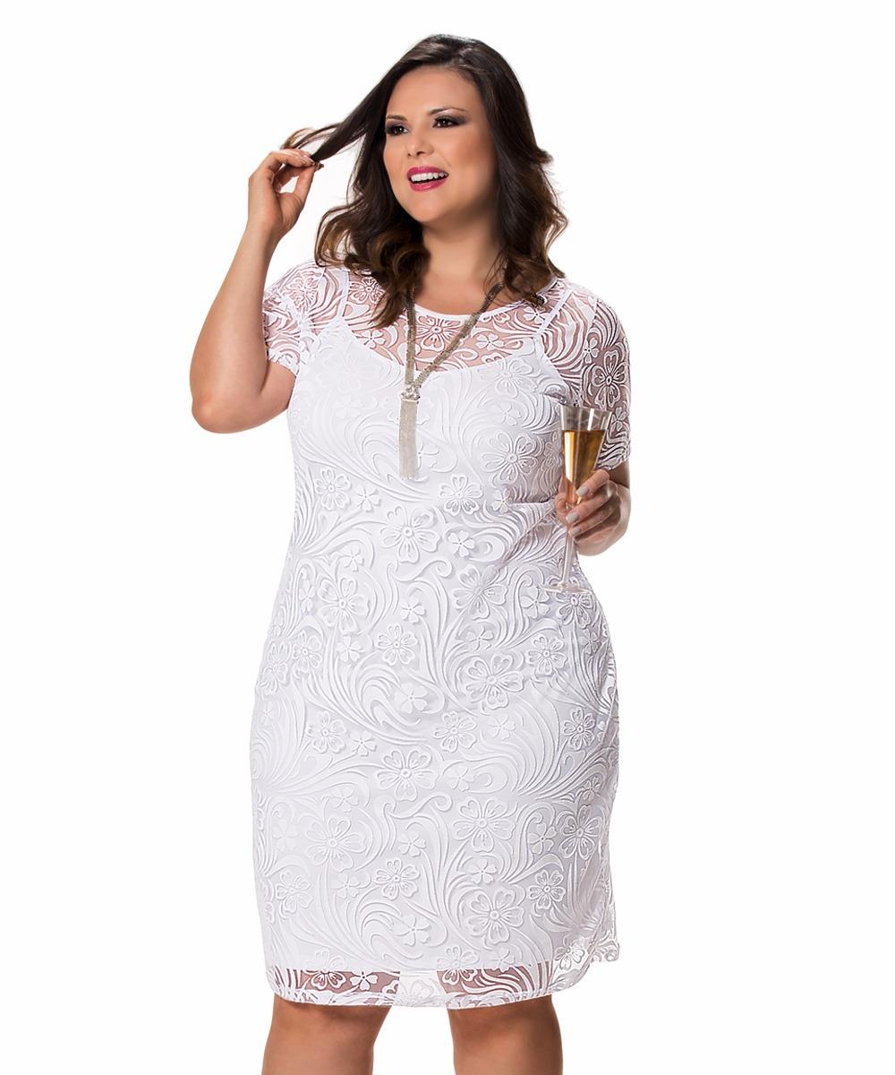 Resultado de imagem para vestido de malha devore plus size