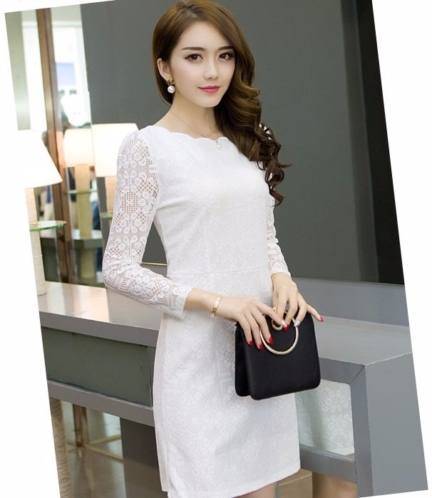0347ef343 Vestido Branco Renda Curto Festa Casamento Civil Noiva - R$ 110,00 ...