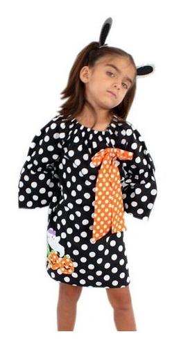 vestido bruja conjunto  bebe disfraz halloween envio gratis