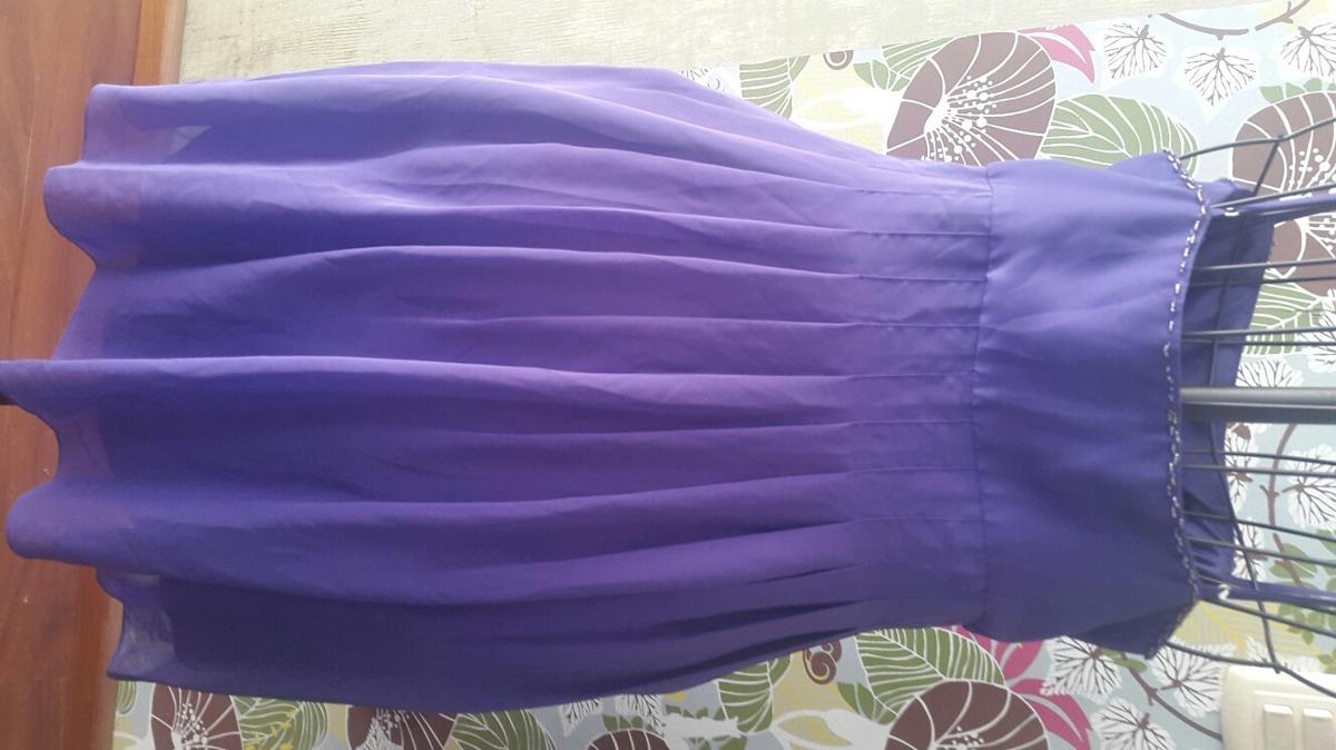 Vestido By Sue Wong Color:purpura - $ 800.00 en Mercado Libre