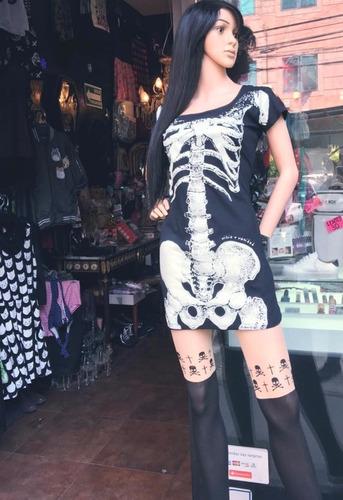 vestido calavera catrina esqueleto gatos halloween moda 2017