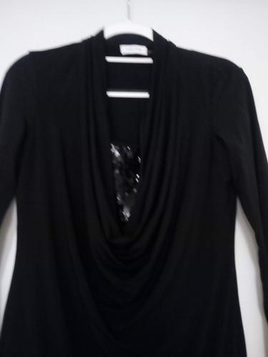 vestido calvin klein m negro  ropa americana en remate