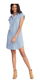 Camisa Maluma Vestidos De Mujer Corto Azul En Mercado