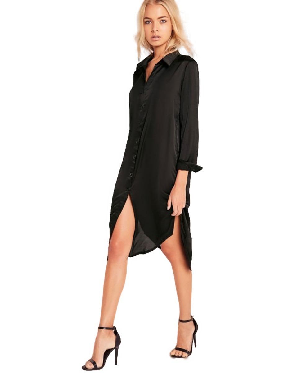 948c814ce vestido camisero bordado importado ropa mujer camisa 12%off. Cargando zoom.