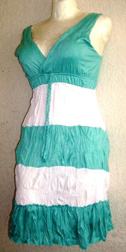 vestido campesino primavera verano algodon casual vestir