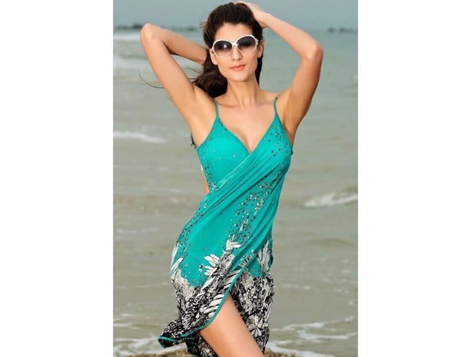 Vestido canga sa da praia piscina lindo r 59 99 em for Piscina fum d estampa