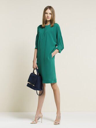 Vestido Carolina Herrera Verde Nuevo Talla 2