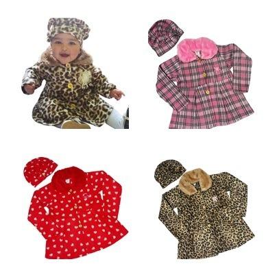 6105d809882e1 Vestido Casaco Jaqueta Agasalho Blusa Frio Infantil Menina - R  60 ...